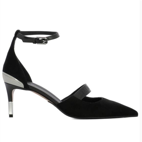 4e66817e05 Balmain Shoes   Suede Anklestrap D Orsay Heel   Poshmark